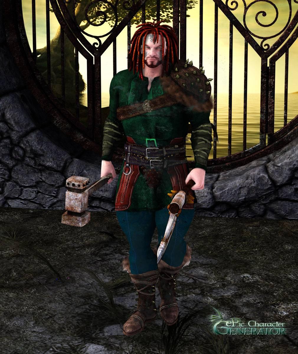 ePic Character Generator Season 2 Muscular Barbarian Screenshot 07