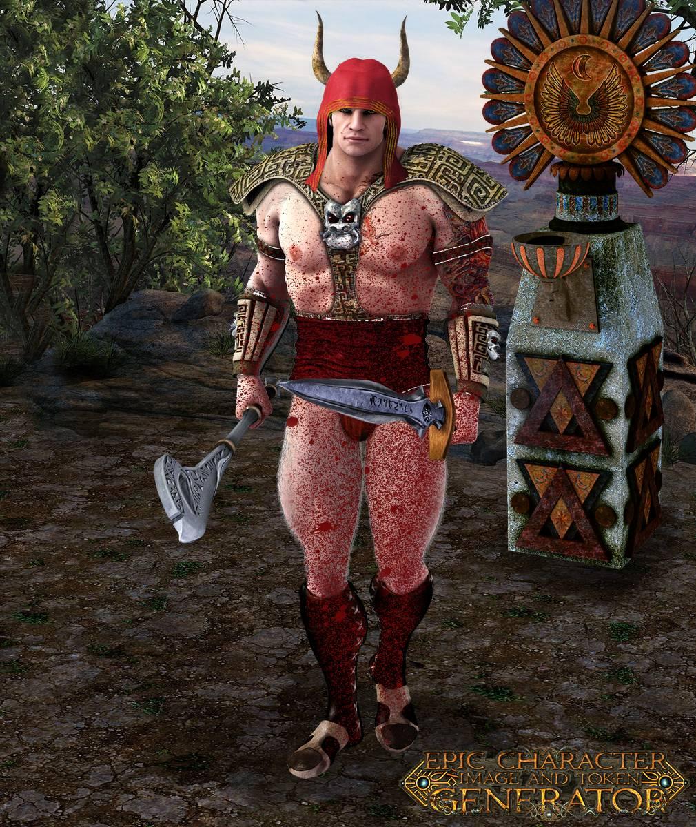 ePic Character Generator Season 2 Muscular Barbarian Screenshot 13