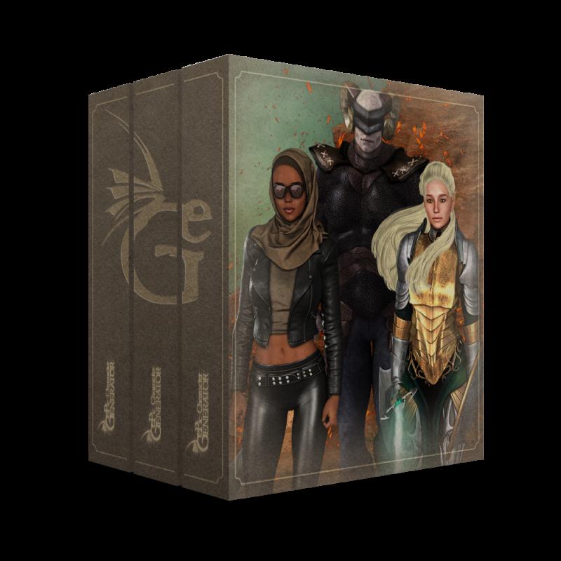 ePic Character Generator Season 2 Pro Bundle Box