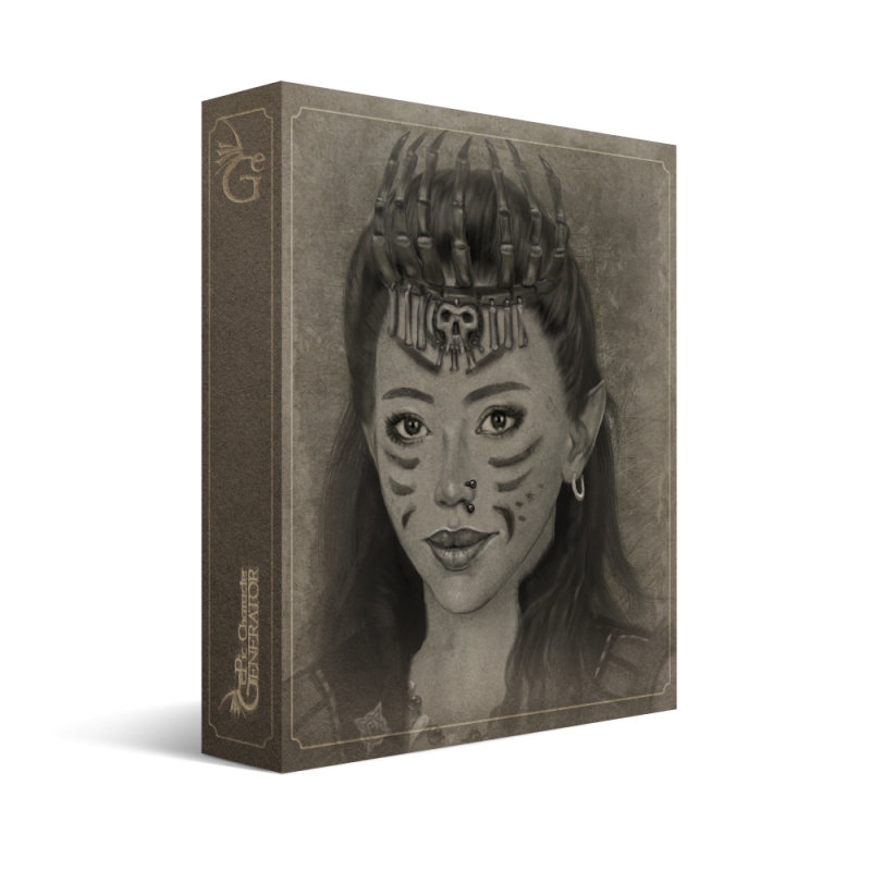 ePic Character Generator Season 3 Female Portrait Box