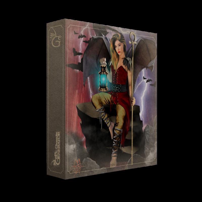 ePic Character Generator Season 3 Throne Lady 2 Box
